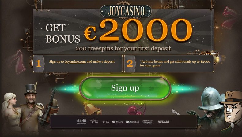 JoyCasino is a casino with a quick payout